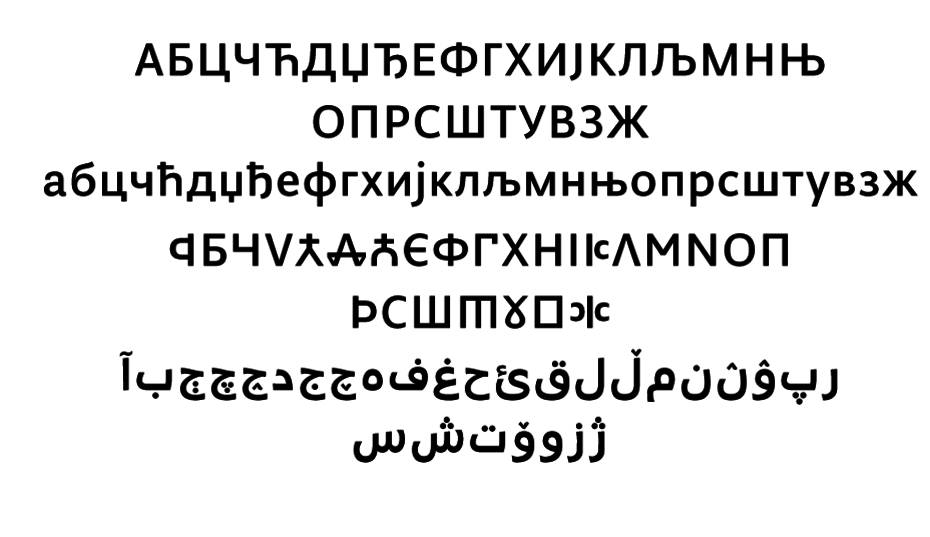 Type Journal • Type Journal's Top Cyrillic Typefaces of 2014