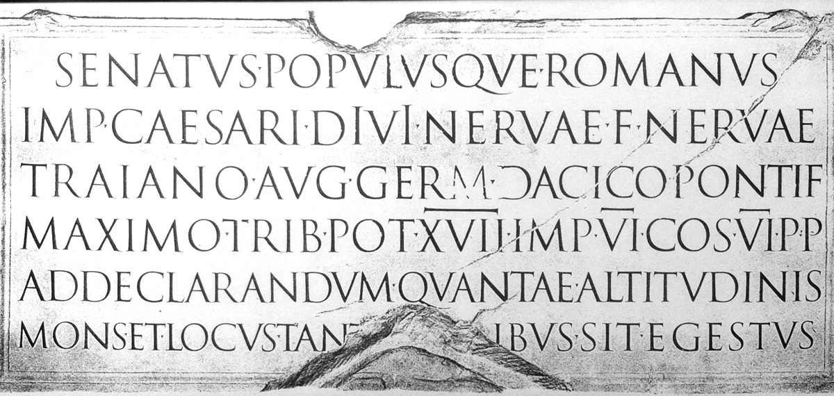 Type Journal • The Trajan letter in Russia and America