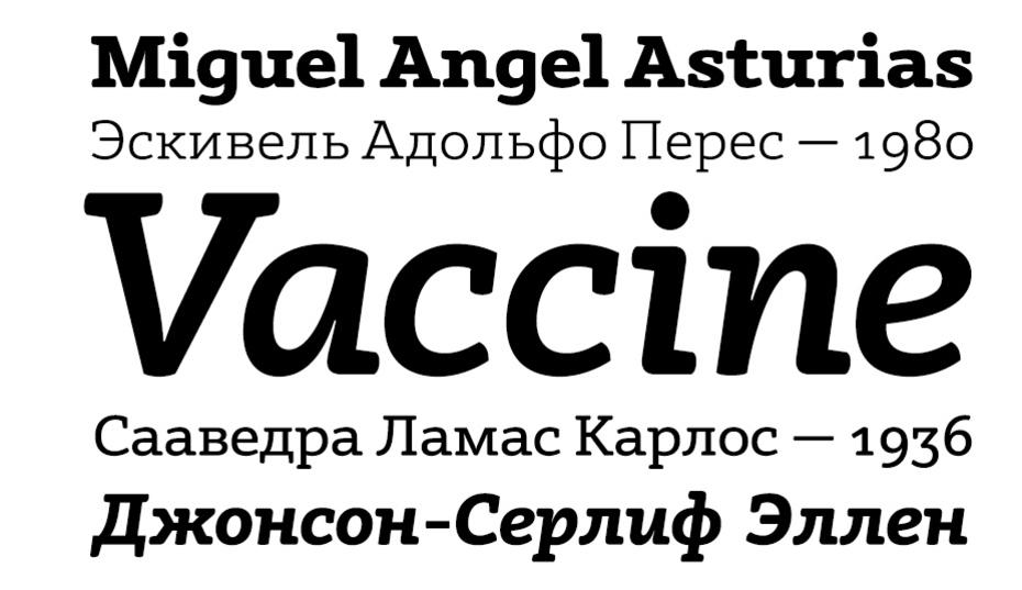 Adelle Cyrillic Шрифт
